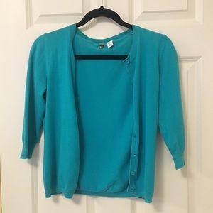 bp Sweaters - Teal BP Cardigan